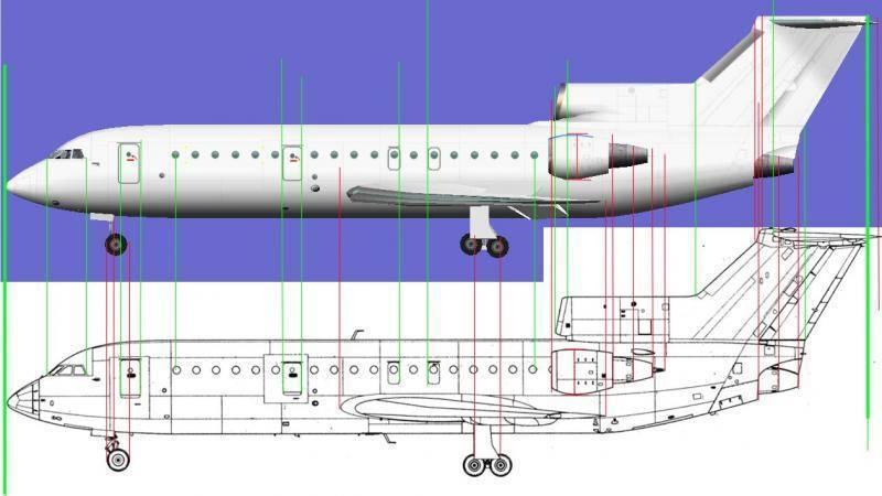 Як-42  фото. видео. схема салона. характеристики. отзывы.