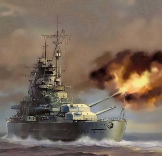 Линкор бисмарк (bismarck 1939) — история и фото немецкого корабля