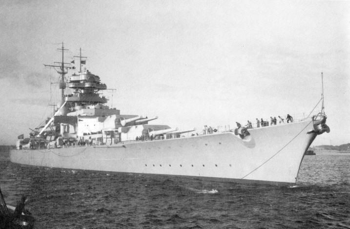 Кригсмарине — история немецких вмс в период третьего рейха