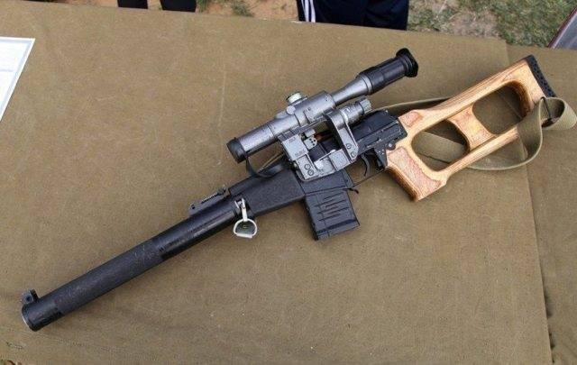 """Снайперская винтовка всс """"винторез"""""""
