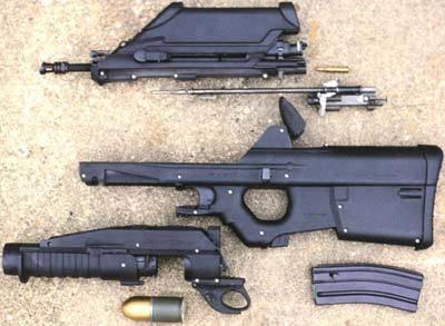 Видео: штурмовая винтовка fn f2000