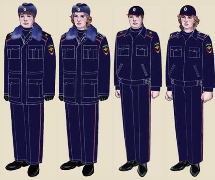 Форма полиция мвд россии