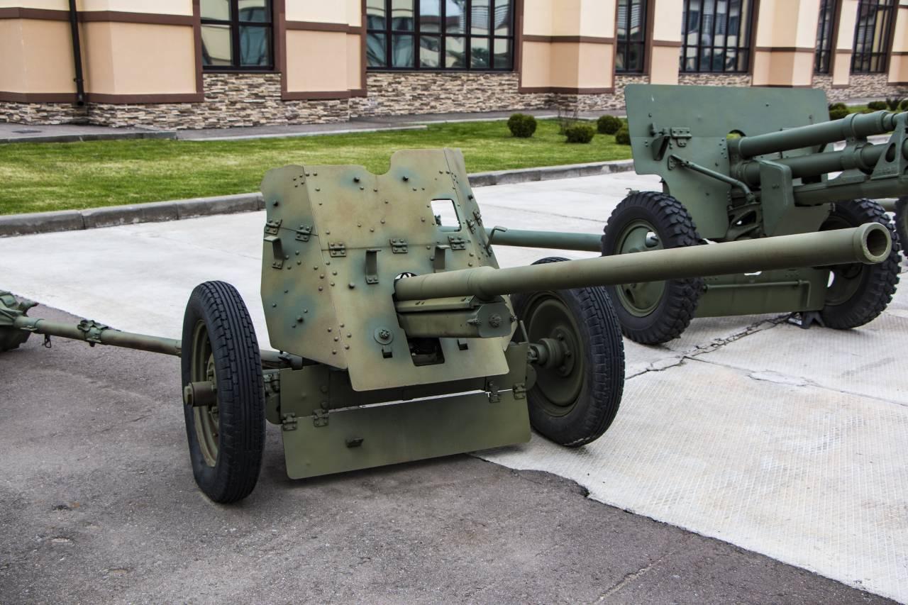 45-мм противотанковая пушка образца 1942 года (м-42) — википедия с видео // wiki 2