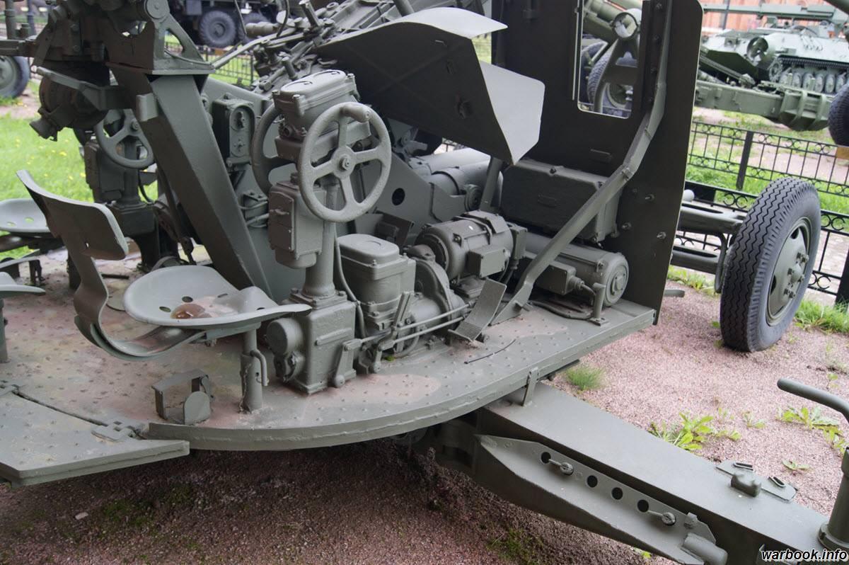 Советская спаренная зенитная корабельная артустановка - 57-мм зенитное орудие зиф-31