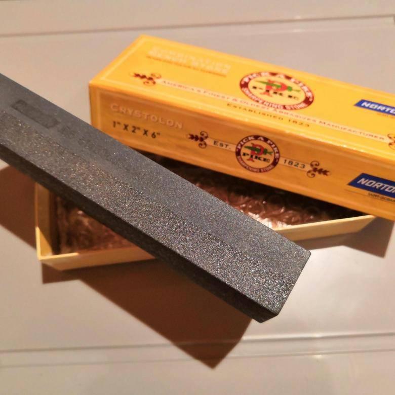 Как пользоваться камнями для заточки ножей