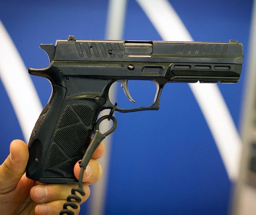 Вооружен и очень безопасен. травматическое оружие