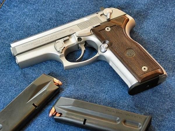 Пистолет Beretta M 8000 Cougar