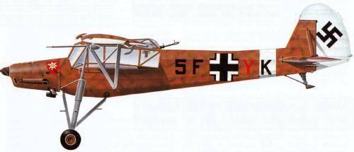 Fiseler 156 Storch – готов к взлёту откуда угодно