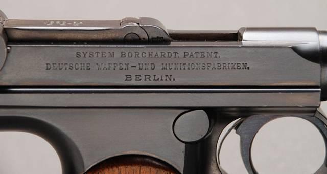 «курок» — пистолет borchardt c-93   фото, описание, характеристики.