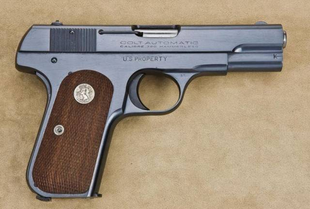 Colt model 1903 карманный hammerless - colt model 1903 pocket hammerless - qwe.wiki