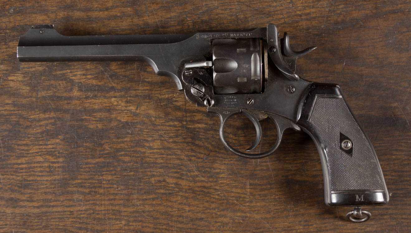 Пистолет webley & scott m1909
