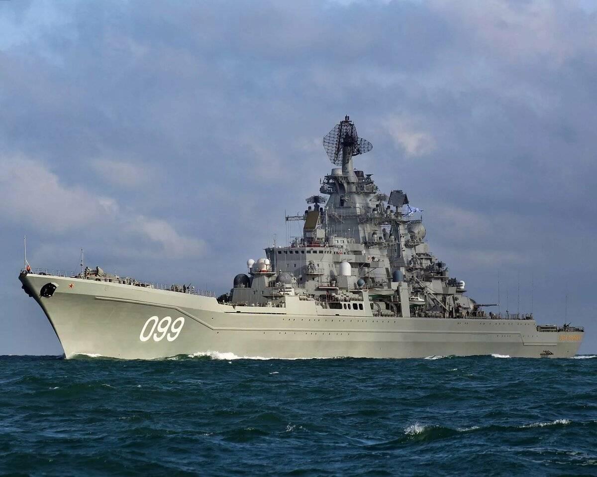 Пётр великий (атомный крейсер) — википедия