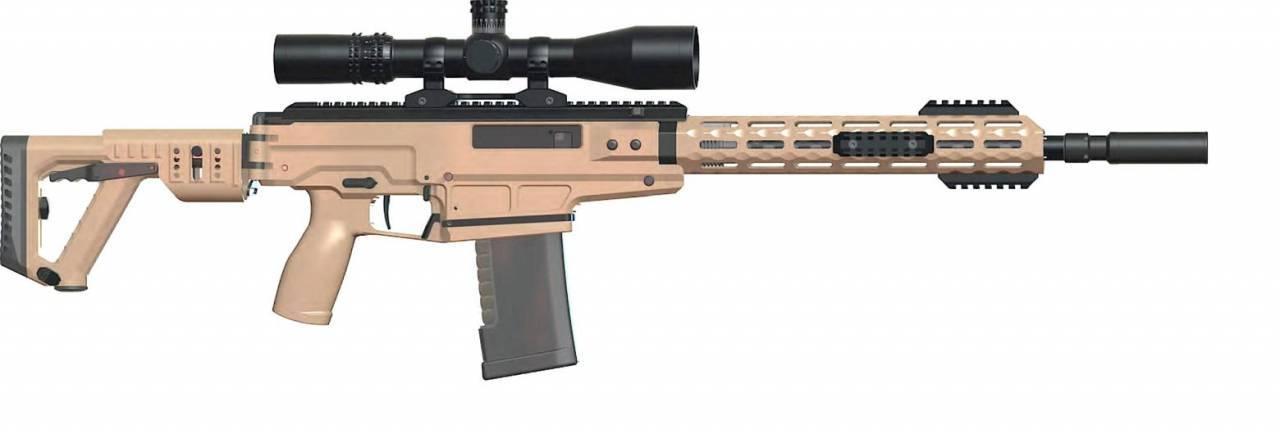 Самозарядный карабин СК-16 — оружейный конструктор