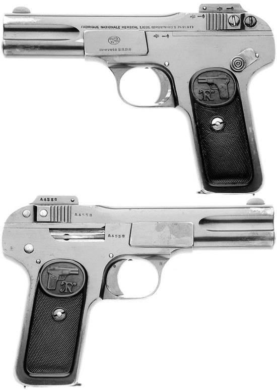 Пистолет браунинг 1903 ттх. фото. видео. размеры. скорострельность. скорость пули. прицельная дальность. вес