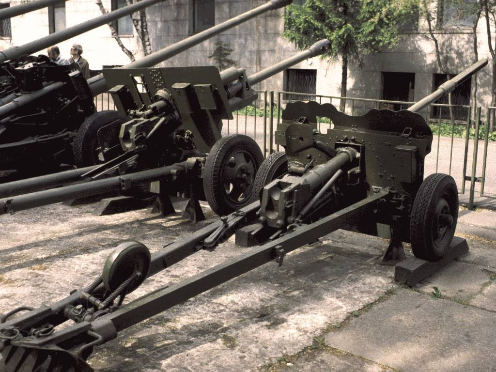 Пушка мт-12 рапира