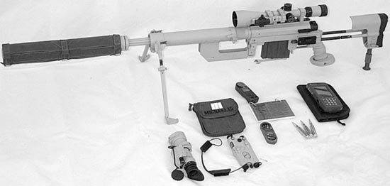 Tac-50 mcmillan tactical rifle