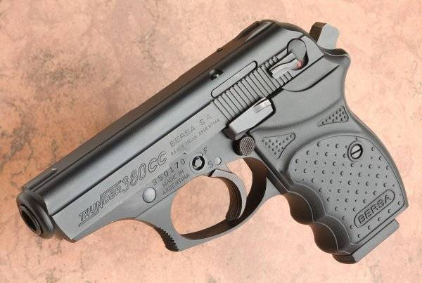Gun review: bersa thunder 380 concealed carry - the truth about guns