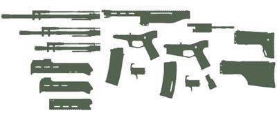 Glock по-израильски. пистолет iwi masada (видео)