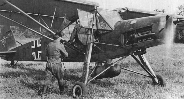 Fieseler fi 156 storch — википедия