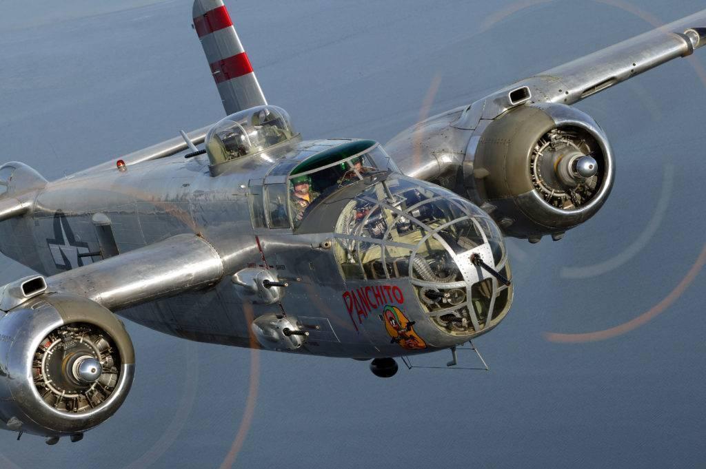Двухмоторный средний бомбардировщик north american b-25 «mitchell» | красные соколы нашей родины
