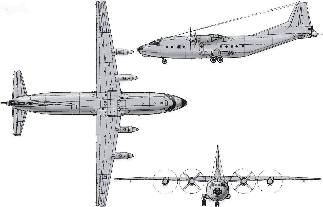 Военно-транспортный самолет ан-12 | армии и солдаты. военная энциклопедия