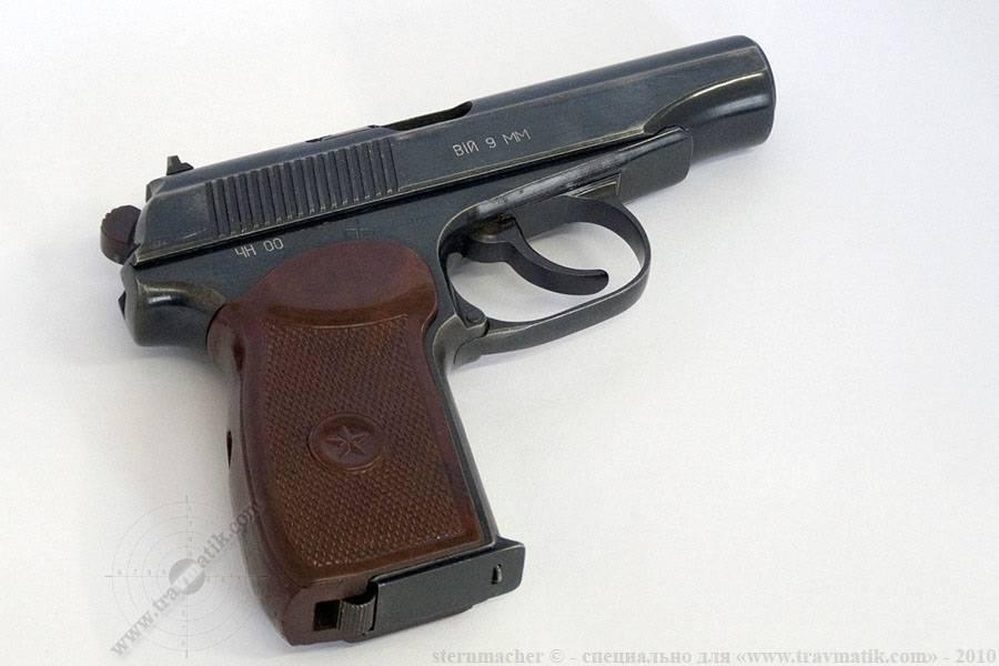 Пистолет пм (макарова) пневматический: технические характеристики и фото