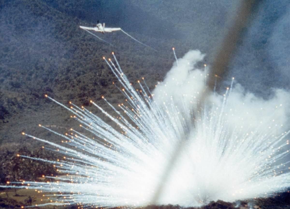 Фосфорная бомба: принцип действия и последствия