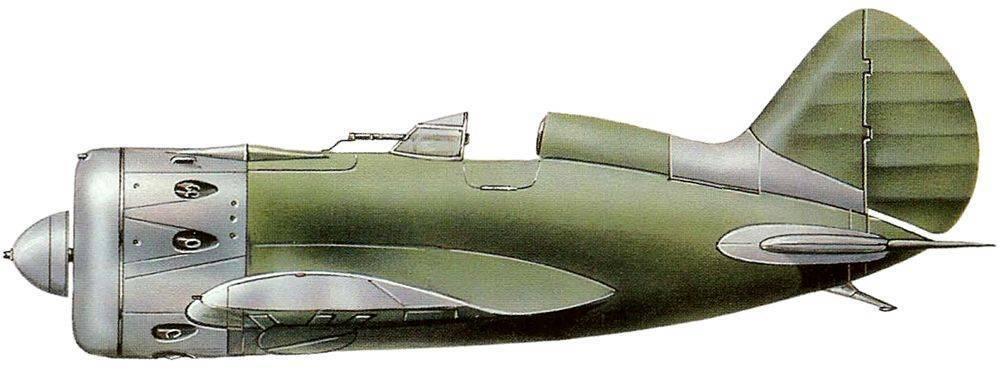 Советский истребитель и - 16