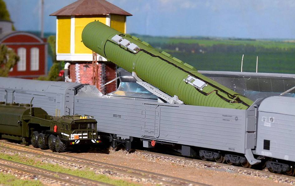 Боевой железнодорожный ракетный комплекс википедия