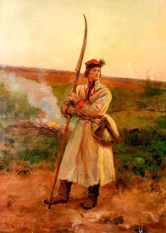 Коса (оружие) — википедия