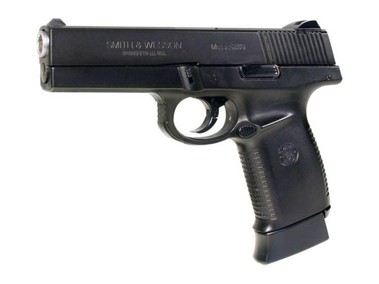 Пистолет smith & wesson sigma