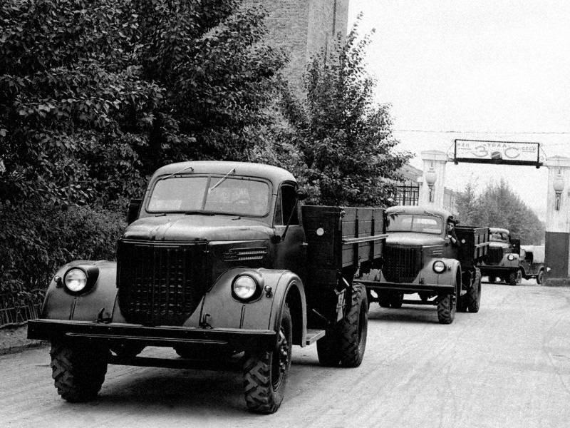 Автомобили газ 51 грузовой и его модификации. краткая техническая характеристика