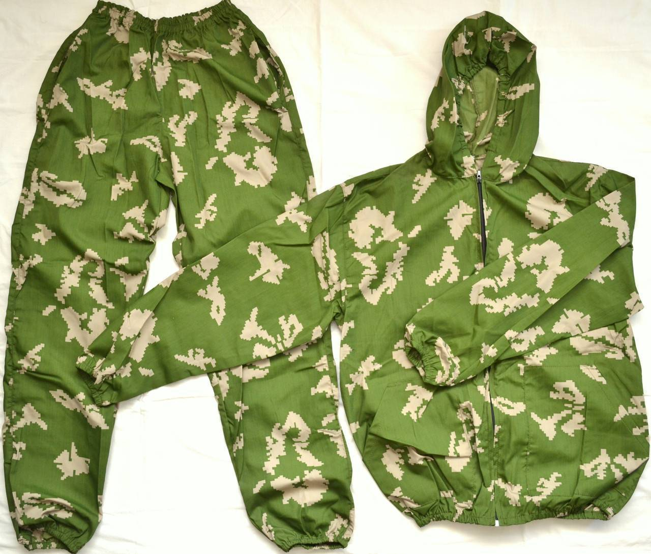 Камуфляжные костюмы для лета и зимы