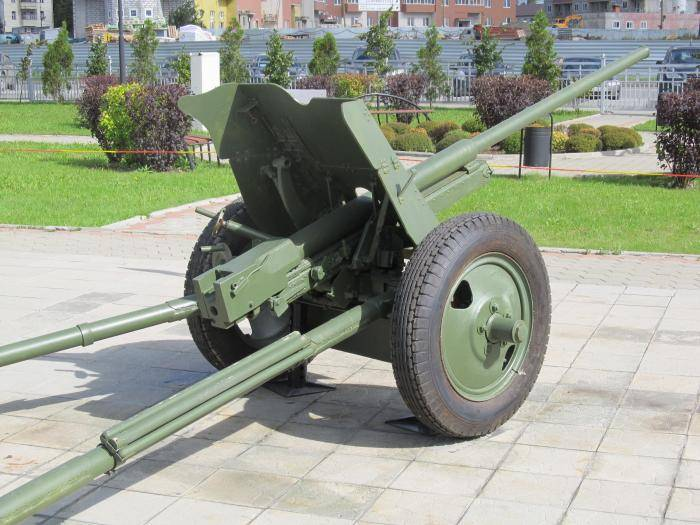 45-мм противотанковая пушка образца 1942 года (м-42) — википедия