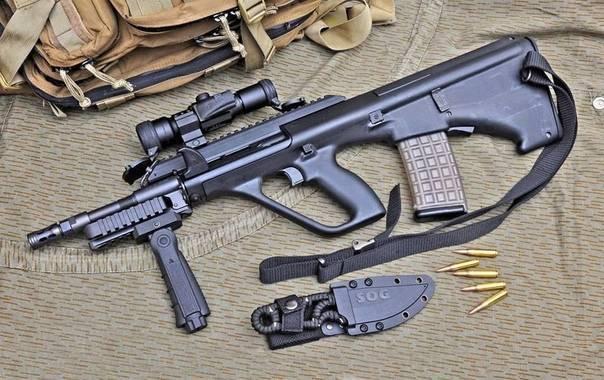 Steyr stg.58 штурмовая винтовка — характеристики, фото, ттх