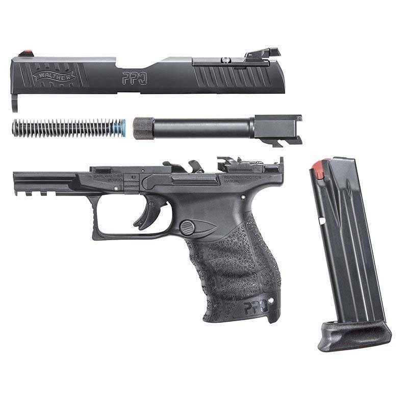 Walther ppq m2 sub-compact пистолет — характеристики, фото, ттх