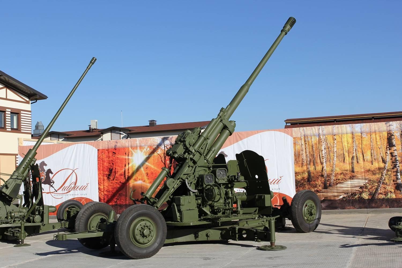 Реферат 100-мм зенитная пушка кс-19