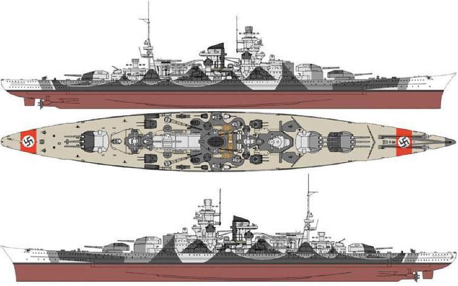 Линейные корабли типа bismarck («бисмарк») — тип линейных кораблей, состоявших на вооружении кригсмарине.