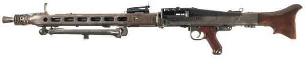 Пулемет MG-42 – циркулярная пила на службе Вермахта