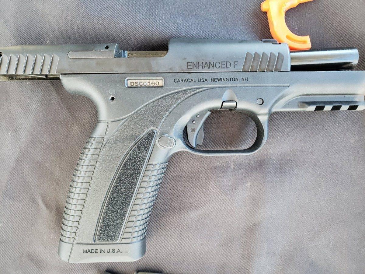 Пистолет caracal