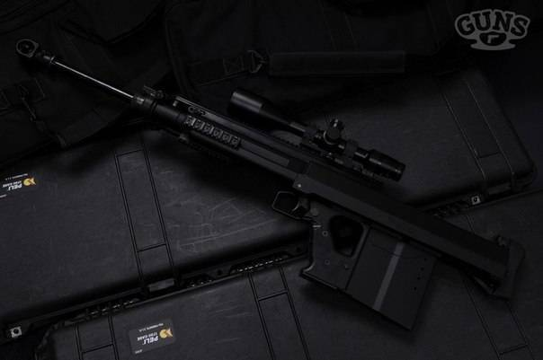 Крупнокалиберная снайперская винтовка gepard m4 / m5 / m6