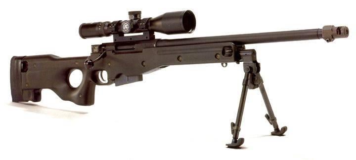 Снайперская винтовка Accuracy International L96A1 Arctic Warfare