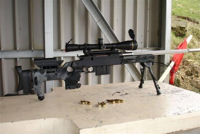 Сделано в баварии. винтовка unique alpine tpg-1