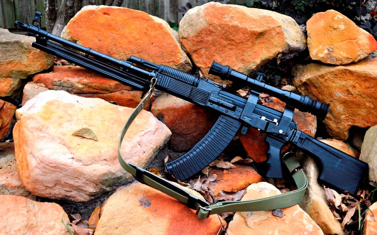 Пулемет калашникова рпк ттх. фото. видео. размеры. скорострельность. скорость пули. прицельная дальность. вес