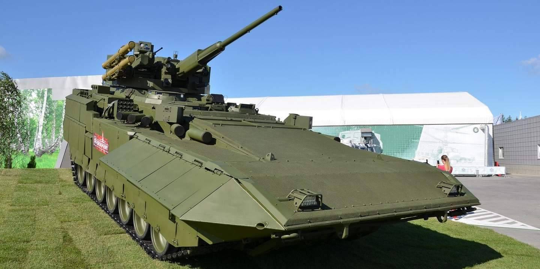 От 30 до 57: какой будет машина поддержки танков на базе «арматы»