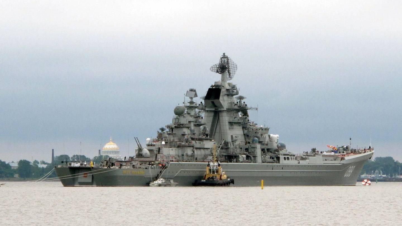 Пётр великий (атомный крейсер) википедия