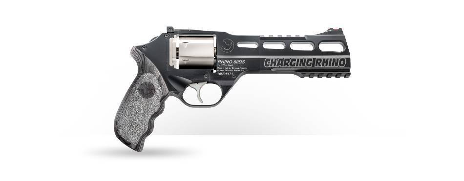 Обзор: револьвер chiappa rhino 60ds по прозвищу «белый носорог»