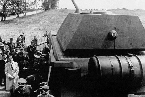 Маус (танк) — википедия