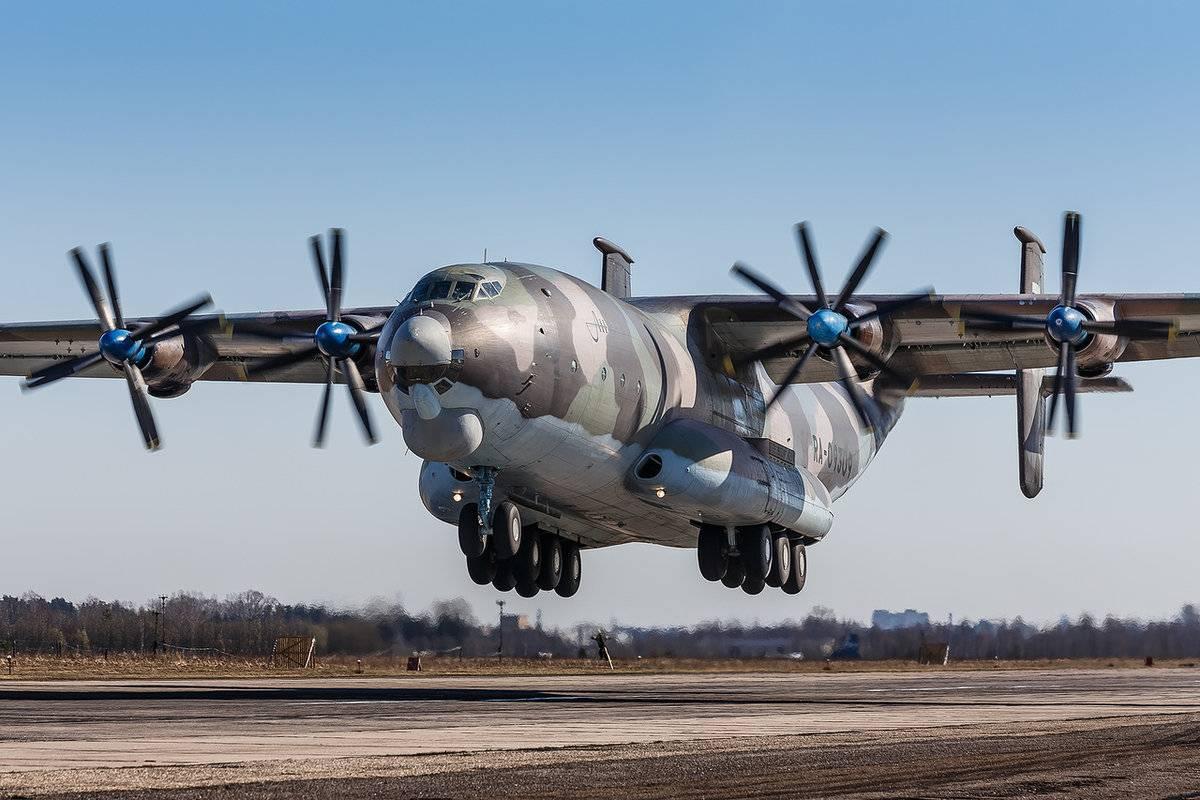Под тулой разбился самолет ан-22 антей