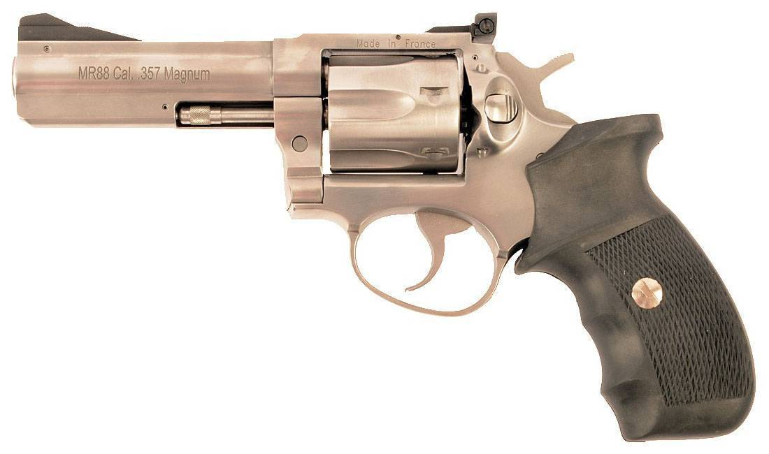 Французский красавец- револьвер manurhin. оружие жандармов.